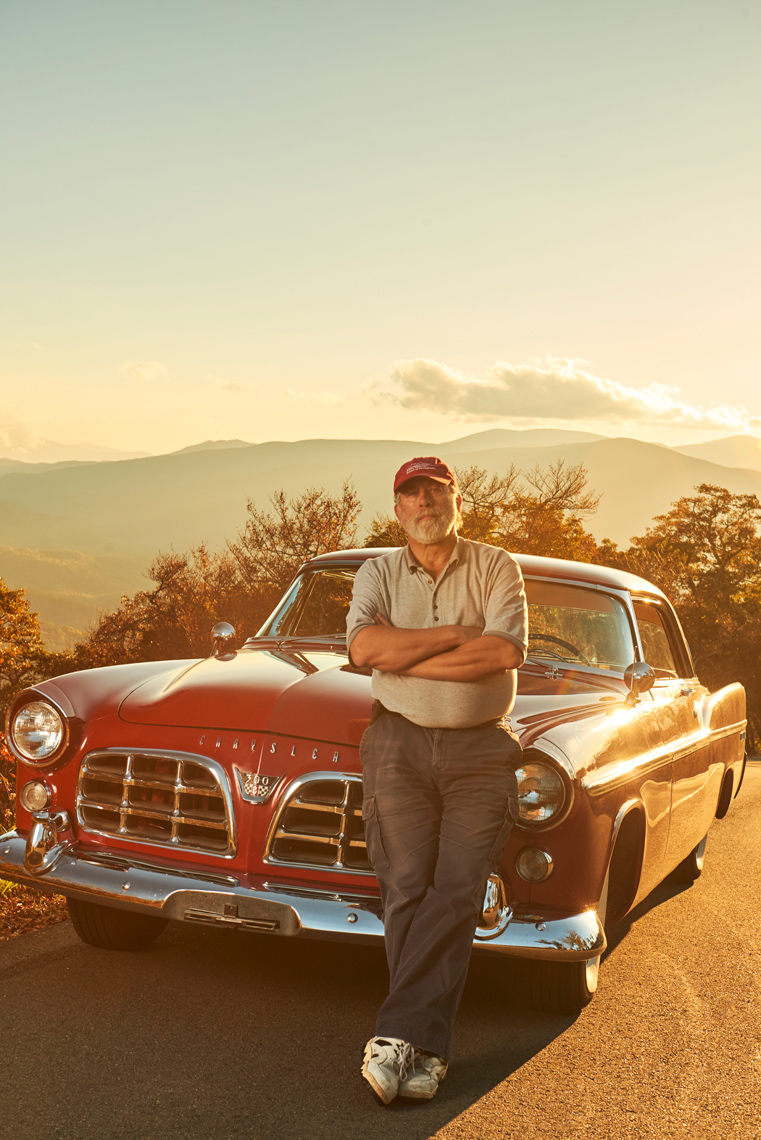 Mick With His Classic Chrysler 300 Photo By Zach Kracht